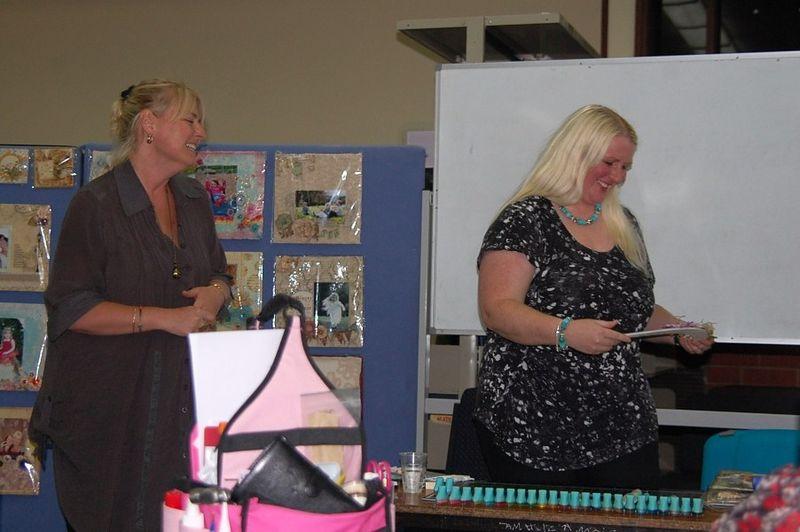 Heidi presents Boomerang to Ingvild