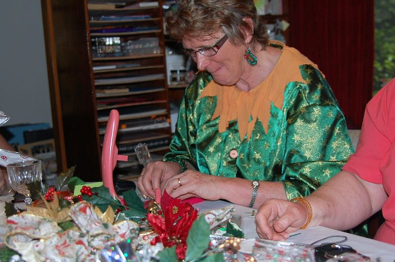 Kathy with Bow Maker