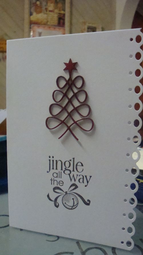 Xmas Card Stampin Up stamp