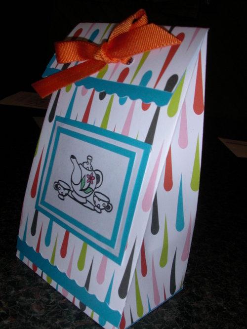 Gift Bag.....Biggest M'Tea...Scrappy Hollow