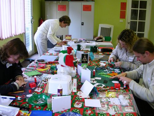UYCHLC.....Christmas in July Cardmaking Workshop 2005