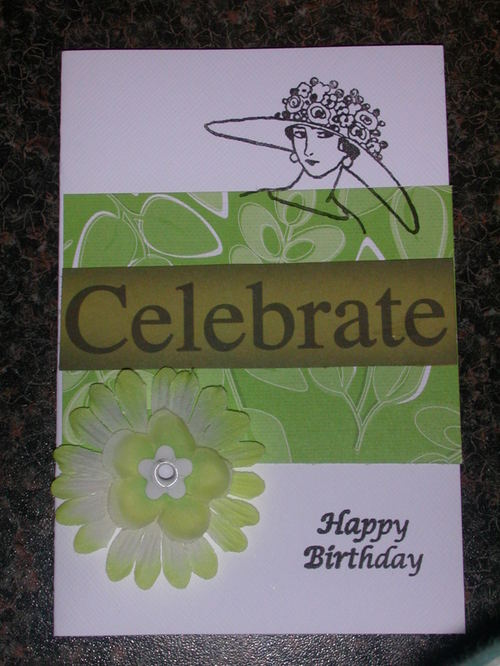 Pat's 80th birthday card
