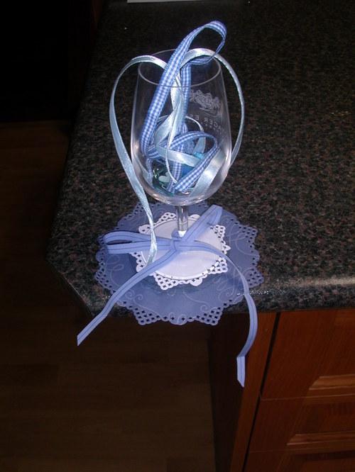 Wine Glass Coaster.....
