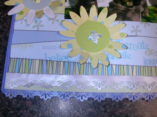 close up of bottom left of Altered Clipboard