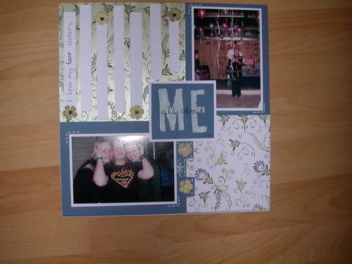 All About Me.....page for Jess