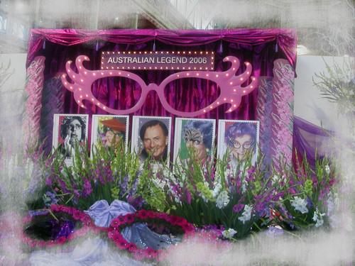 Dame Edna Display ...International Garden and Flower Show