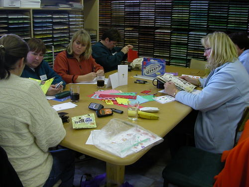SCRAPBOOK CLASS AT SCRAPBOOK LADY