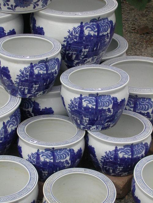 Oriental pots